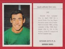 Stoke City Gordon Banks England 242